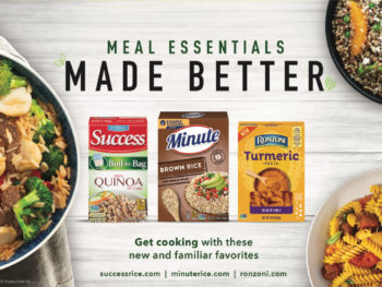 Save Up To $6 On Ronzoni, Minute, Success and Mahatma Rice Products At Publix on I Heart Publix