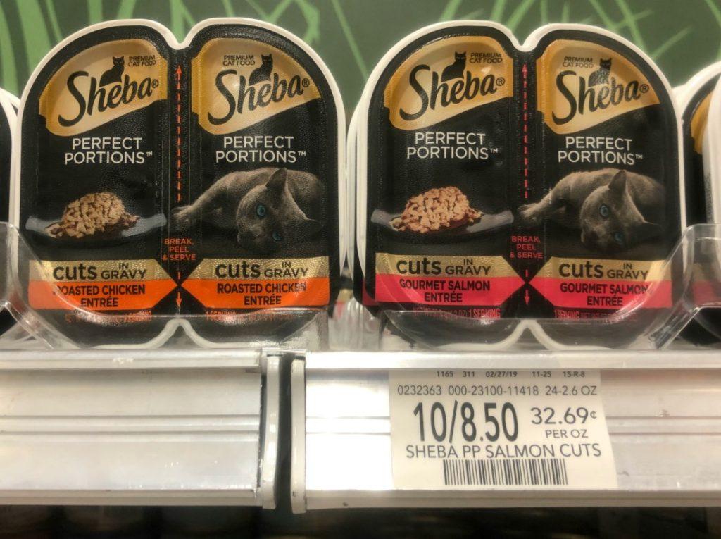 Sheba Perfect Portions Premium Cat Food Just 43¢ At Publix on I Heart Publix
