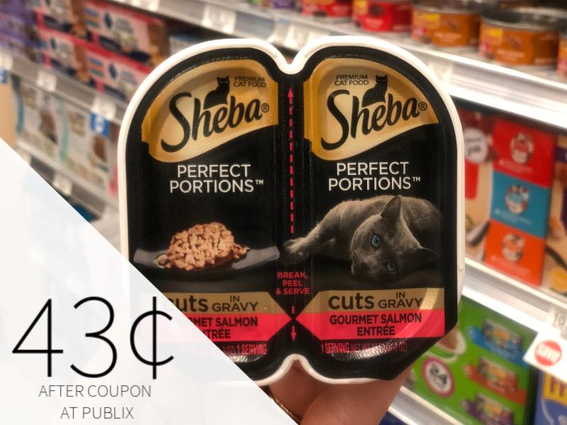 Sheba Perfect Portions Premium Cat Food Just 43¢ At Publix on I Heart Publix 1