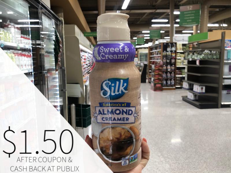Silk Milks & Creamer Only $1.50 At Publix on I Heart Publix 1