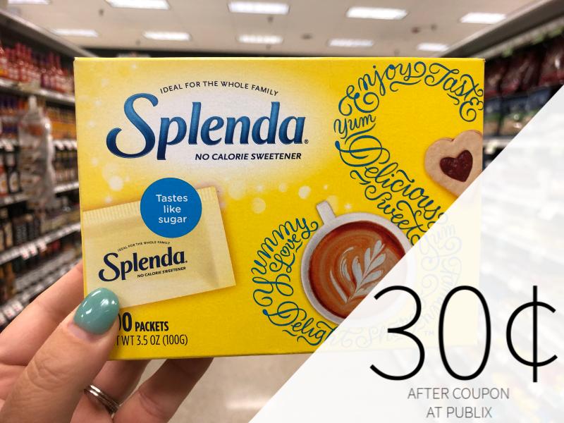 Splenda No Calorie Sweetener Just 30¢ At Publix on I Heart Publix