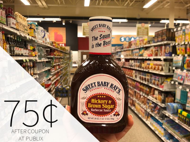 Sweet Baby Ray's Gourmet Sauces Only 18¢ At Publix on I Heart Publix 2
