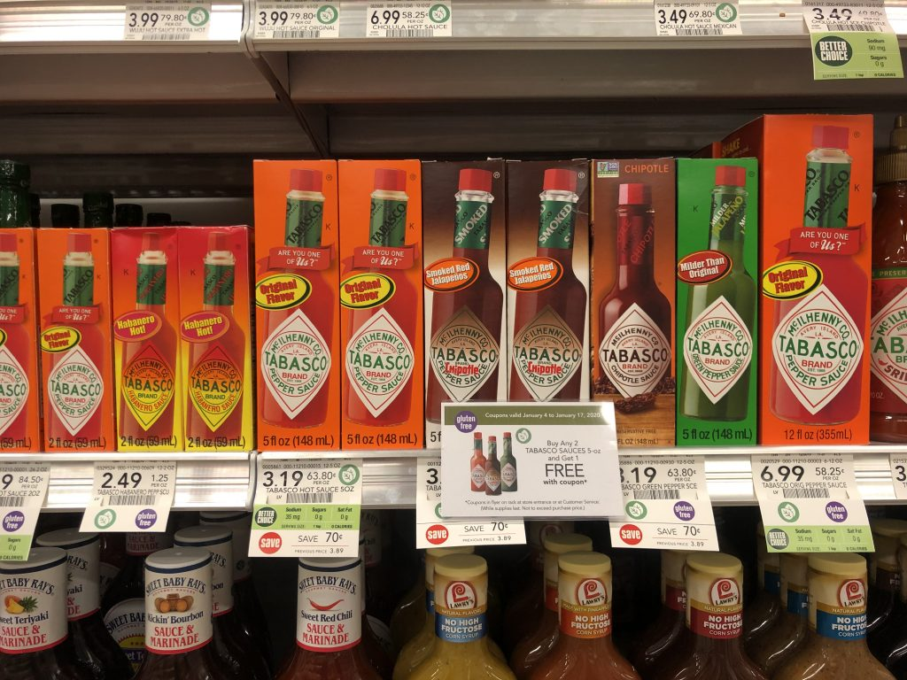 Tabasco Sauces Just $1.13 Per Bottle At Publix on I Heart Publix