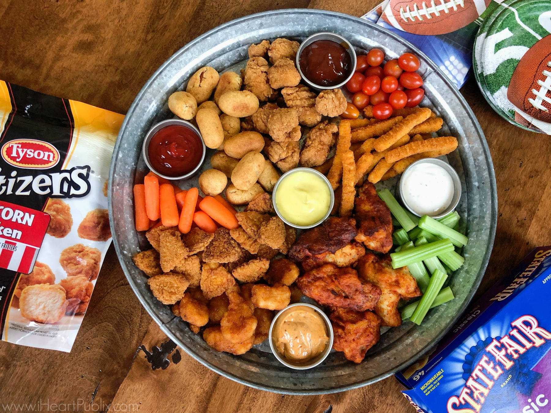 Serve Up Delicious Tyson Products At Your Game Day Gathering Save Now At Publix