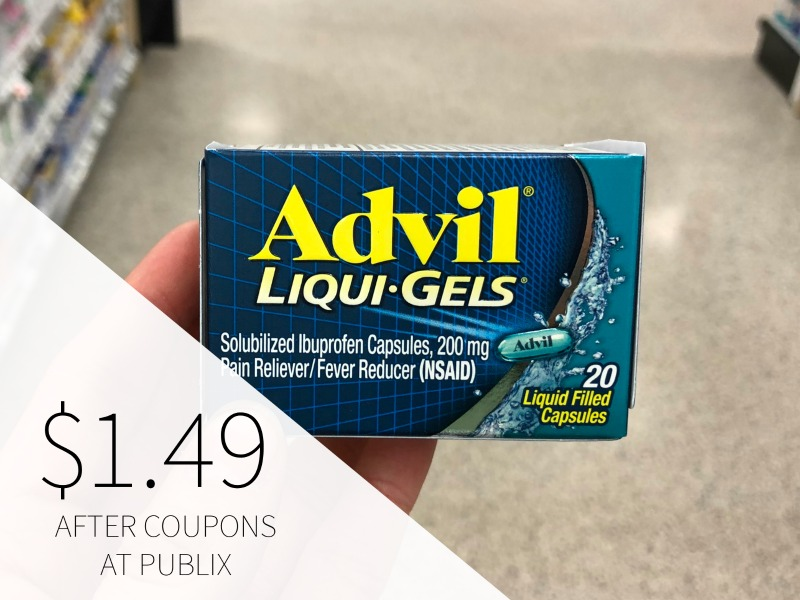 Advil Pain Reliever As Low As 49¢ At Publix on I Heart Publix 2