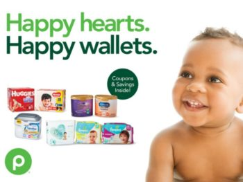 """New Baby Booklet - """"Happy Hearts. Happy Wallets."""" Coupons Valid Through 2/26 on I Heart Publix"""
