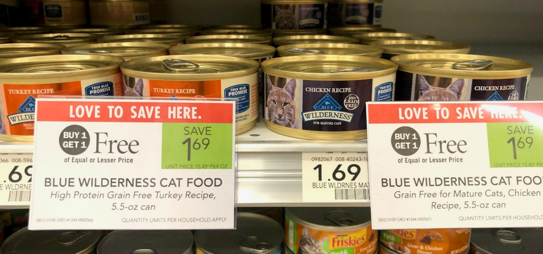Blue Wilderness Cat Food Just 35¢ At Publix on I Heart Publix