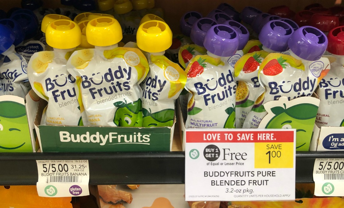 Buddy Fruits Pure Blended Fruit Just 55¢ At Publix on I Heart Publix 2