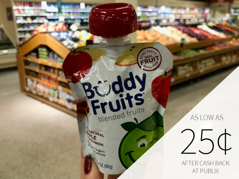 Buddy Fruits Pure Blended Fruit Just 55¢ At Publix on I Heart Publix 3