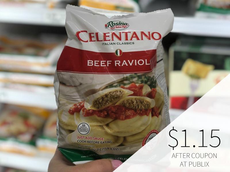Celentano Pasta Or Eggplant Parmigiana Just $1.15 At Publix on I Heart Publix