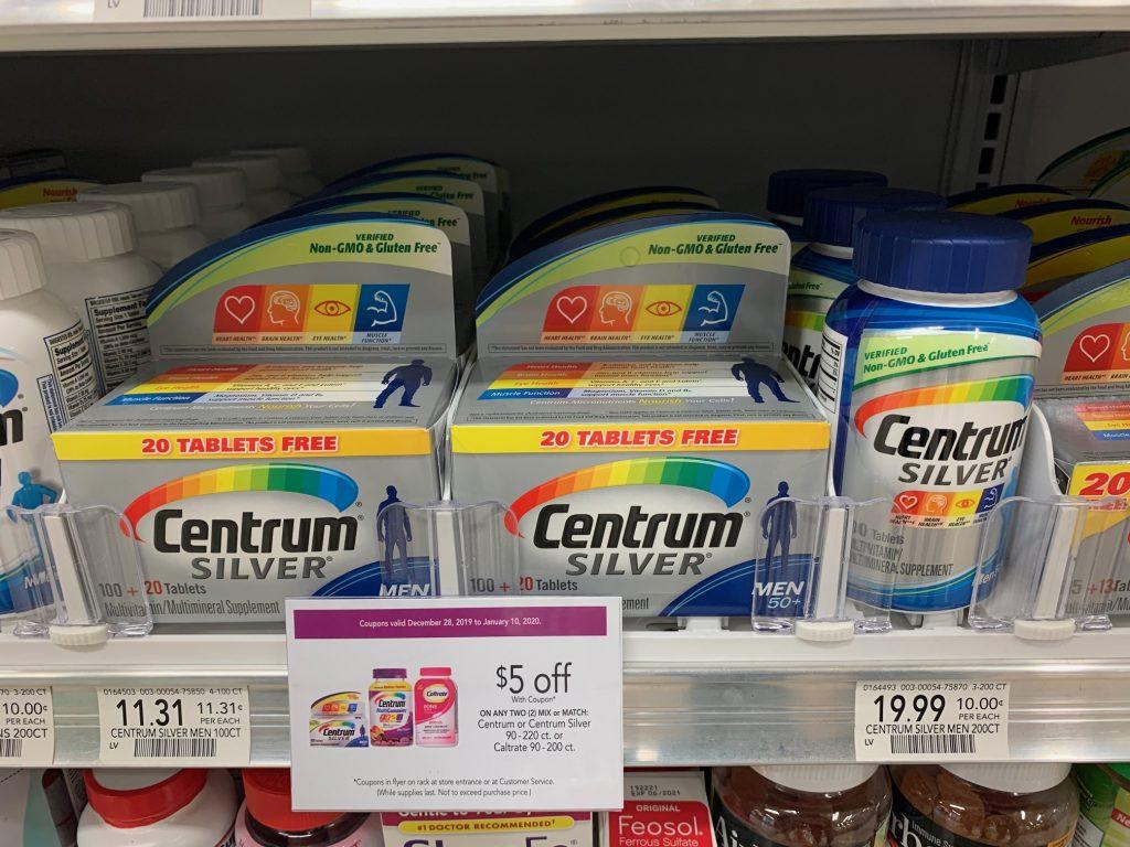 Centrum Multivitamin on I Heart Publix