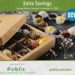 """Publix Grocery Advantage Buy Flyer – """"Extra Savings"""" Valid 2/1 to 2/14 on I Heart Publix"""