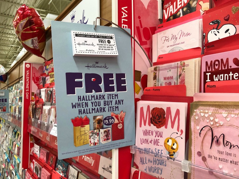 New B1G1 Hallmark Publix Coupon Means Cheap Cards At Publix on I Heart Publix 4