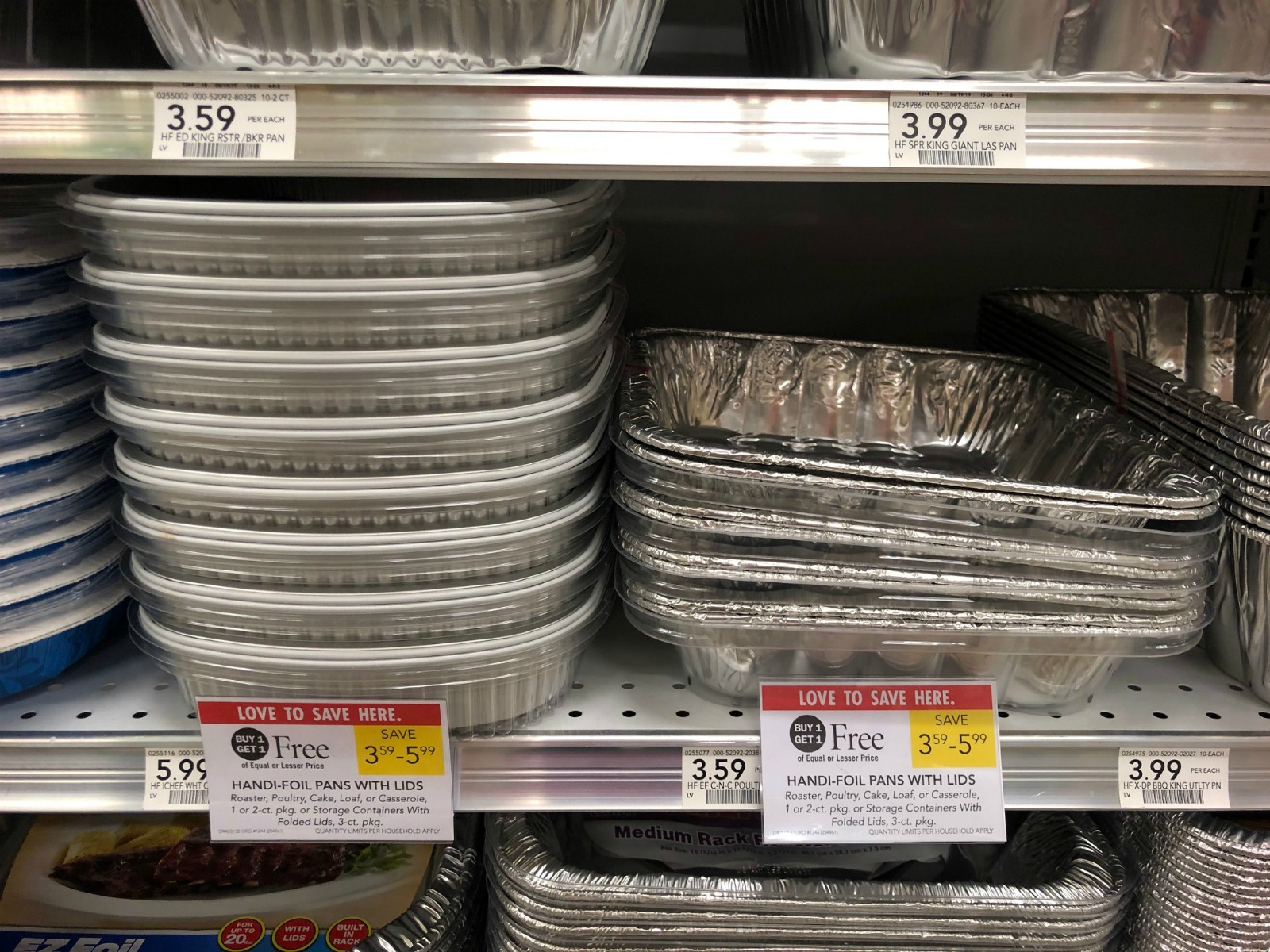Get A Package Of Handi-Foil Pans As Low As FREE At Publix on I Heart Publix