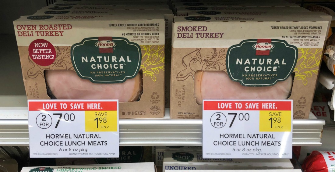 Hormel Natural Choice Lunch Meats Just $2.15 At Publix (Less Than Half Price!) on I Heart Publix