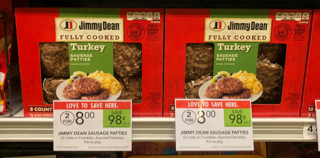 New Jimmy Dean Ibotta - Fully Cooked Turkey Sausage As Low As $2 on I Heart Publix