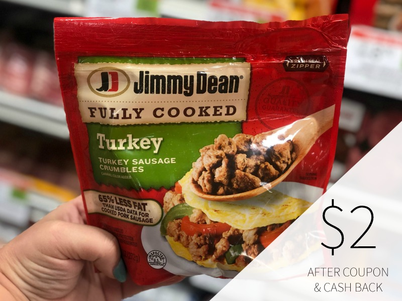 New Jimmy Dean Ibotta - Fully Cooked Turkey Sausage As Low As $2 on I Heart Publix 1