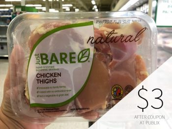 Nice Deals On Just Bare Chicken At Publix- As Low As $3 on I Heart Publix