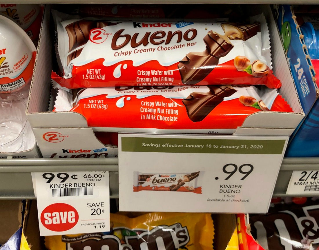 Kinder Bueno Chocolate Bar Just 49¢ At Publix on I Heart Publix
