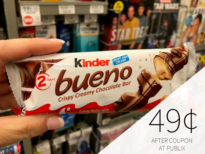 Kinder Bueno Chocolate Bar Just 49¢ At Publix on I Heart Publix 1