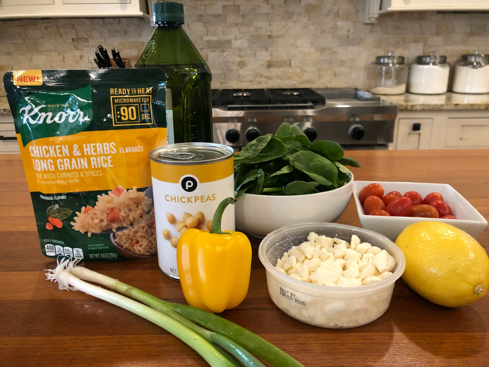 Grab FREE/Cheap Knorr Products & Try My 5 Minute Mediterranean Rice Salad on I Heart Publix 2