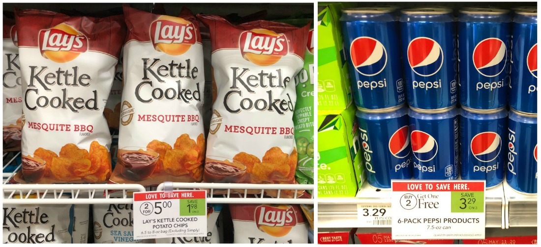 Nice Deal On Pepsi & Lay's Kettle Cooked Chips At Publix on I Heart Publix