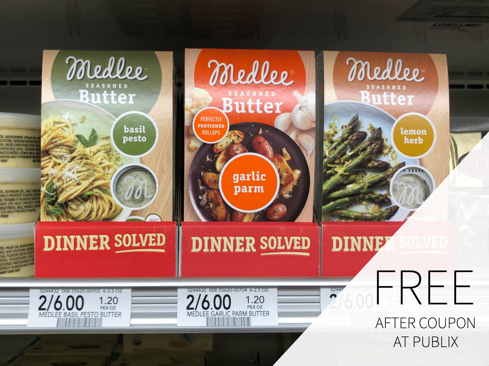 Medlee Seasoned Butter Just $2 At Publix on I Heart Publix