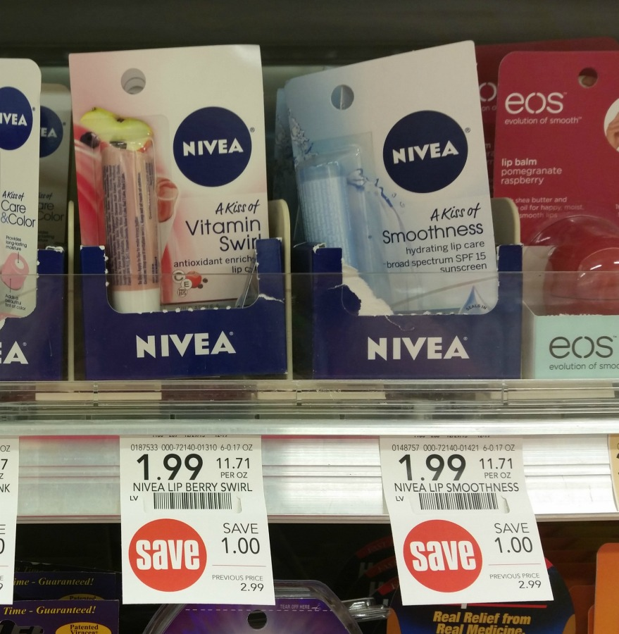 Nivea Lip Care Items Only 87¢ At Publix (Plus Lotion For Just $3.62 - Over Half Off!) on I Heart Publix