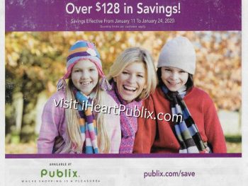 Publix Health & Beauty Advantage Buy Flyer Valid 1/11 to 1/24 on I Heart Publix