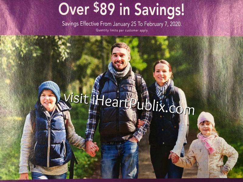 Publix H&B Flyer, 1/25 to 2/7 on I Heart Publix