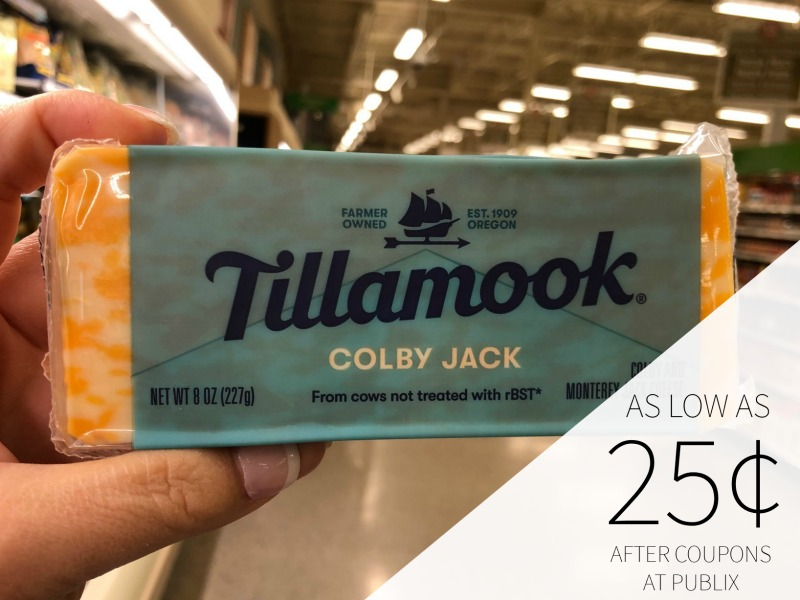 Tillamook Cheese As Low As 25¢ At Publix Starting 1/25 on I Heart Publix