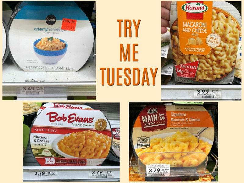 Try Me Tuesday - Publix Macaroni & Cheese on I Heart Publix