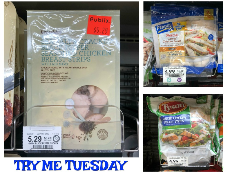 Try Me Tuesday - Publix Chicken Breast Strips on I Heart Publix