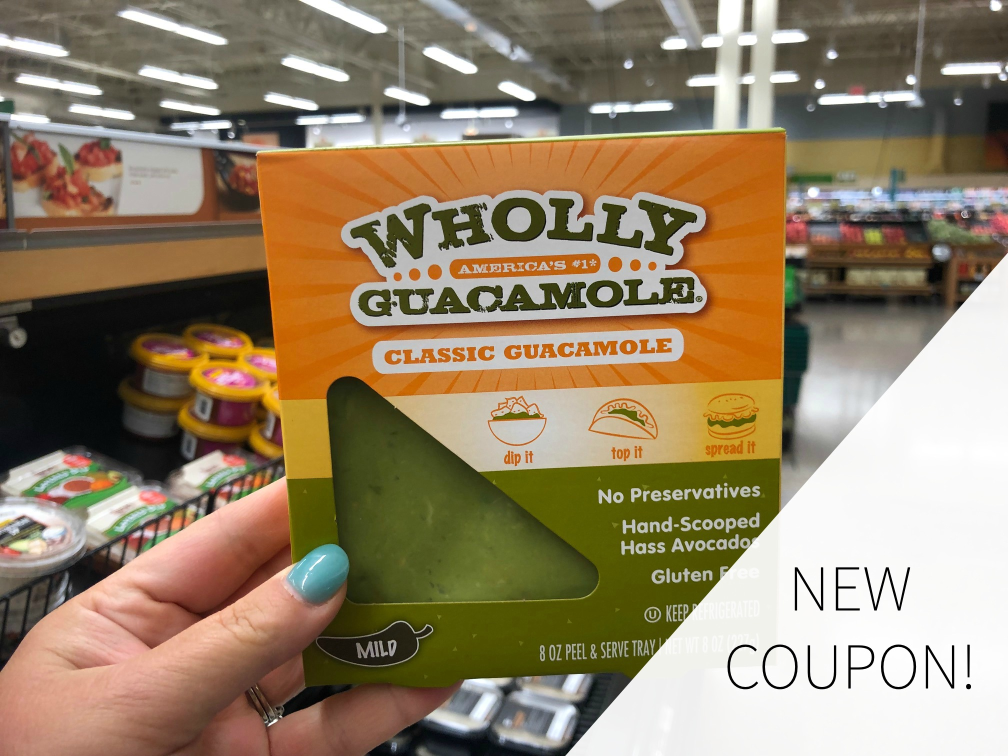 New Wholly Guacamole Coupon To Print on I Heart Publix