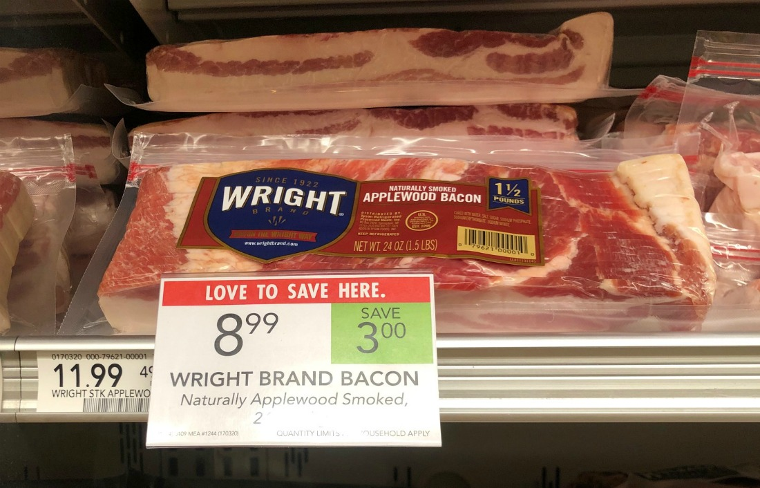 Wright Brand Bacon Just $7.49 After Cash Back (Save $3.50!) on I Heart Publix