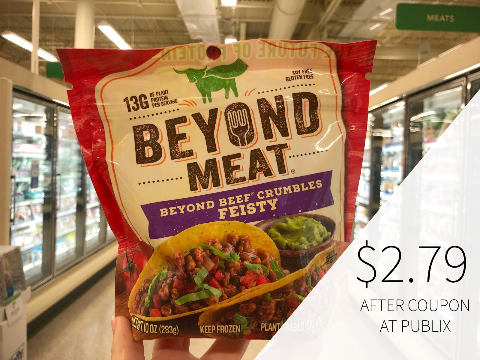 Beyond Meat Crumbles Only $1.46 At Publix on I Heart Publix 2