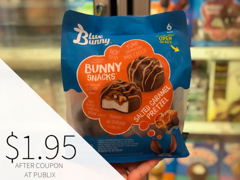 Blue Bunny Frozen Treats Only $1.75 At Publix on I Heart Publix