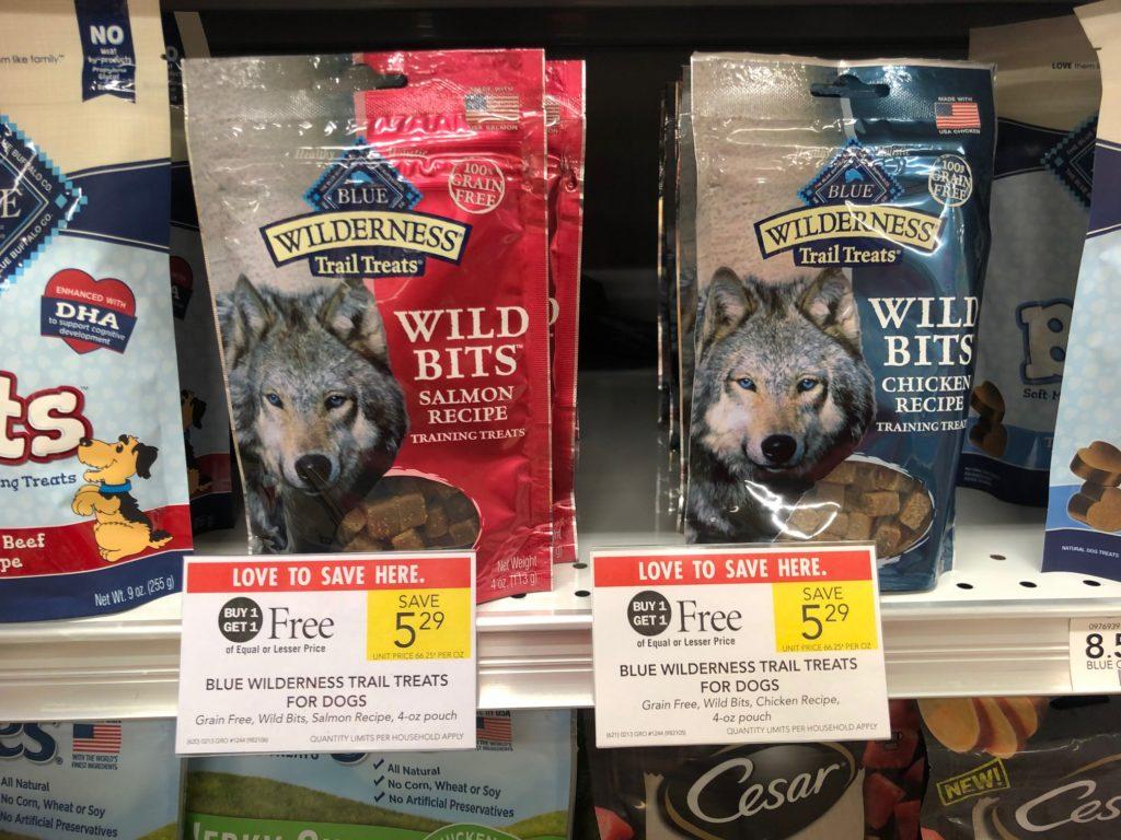 Blue Wilderness Crunchy Dog Treats Just $2.15 At Publix on I Heart Publix 1