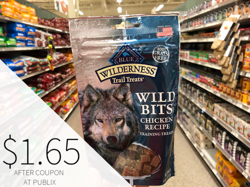 Blue Wilderness Crunchy Dog Treats Just $2.15 At Publix on I Heart Publix 2