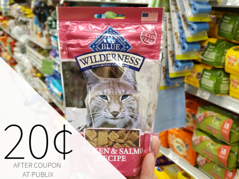 Blue Wilderness Soft Moist Cat Treats Only 20¢ At Publix on I Heart Publix 2