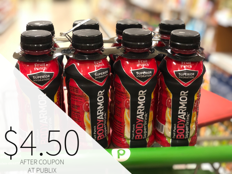 BodyArmor SuperDrink Only $4.50 At Publix on I Heart Publix 1