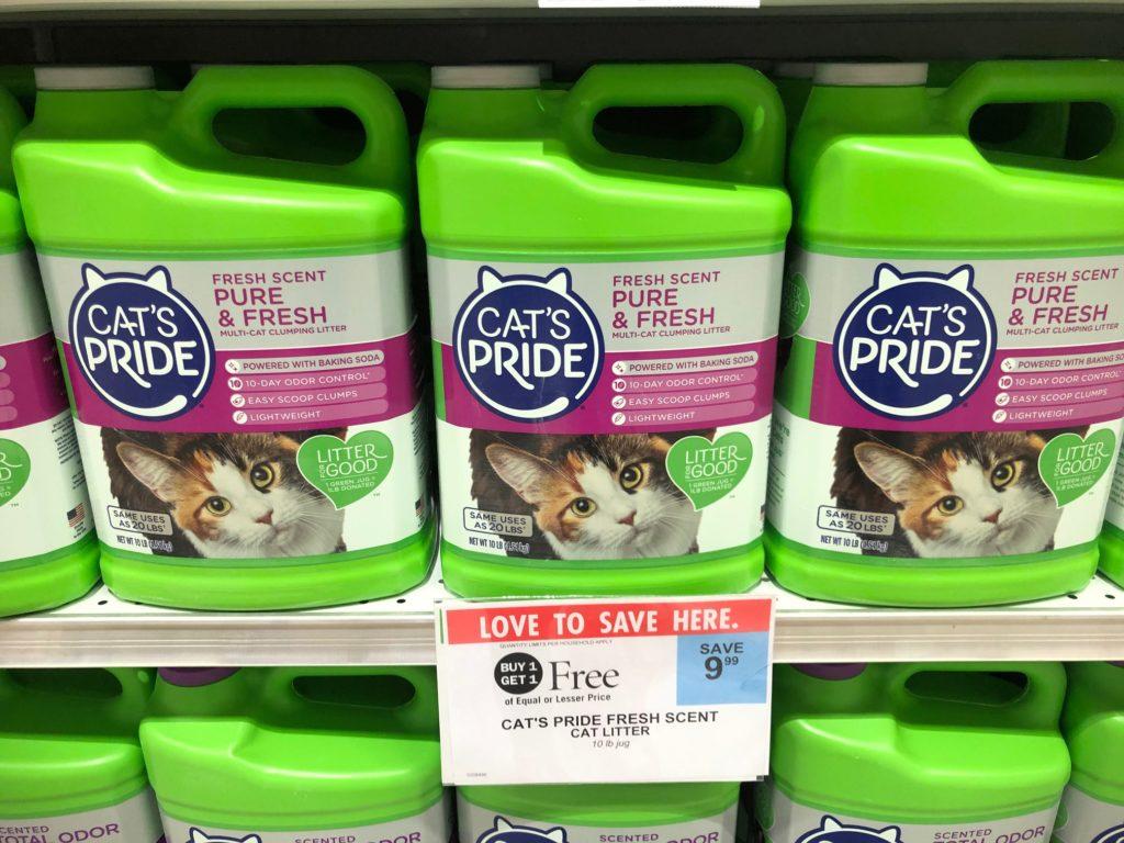 Cat's Pride Cat Litter Just $1.50 At Publix on I Heart Publix