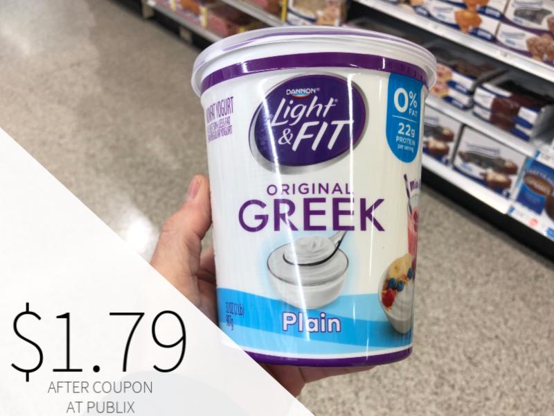 Dannon Greek Yogurt Only $1.79 At Publix on I Heart Publix