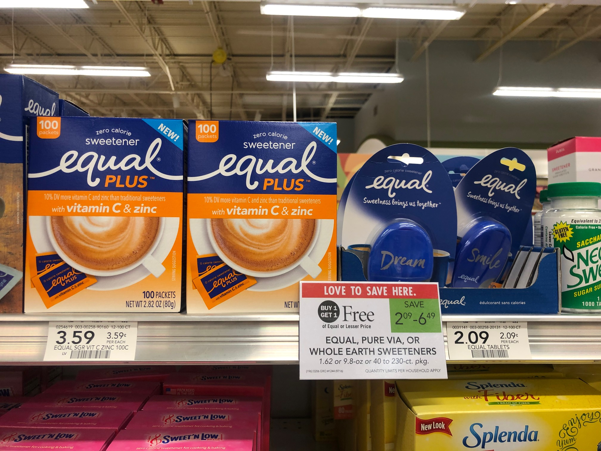 FREE Boxes Of Equal Plus At Publix on I Heart Publix