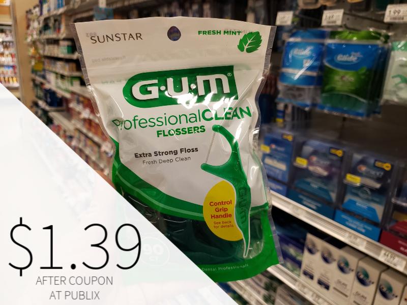 GUM Professional Clean Flossers Just $1.39 At Publix on I Heart Publix