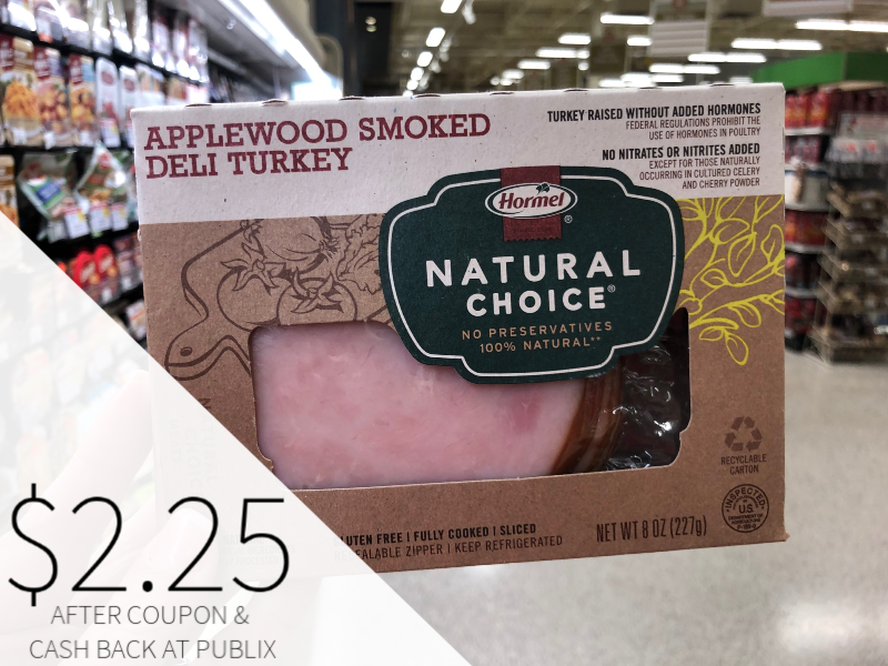 Hormel Natural Choice Lunchmeats Only $2.25 At Publix on I Heart Publix
