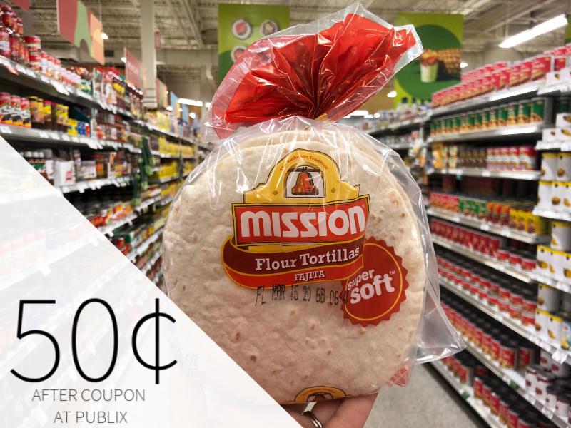 Mission Flour Tortillas on I Heart Publix 3