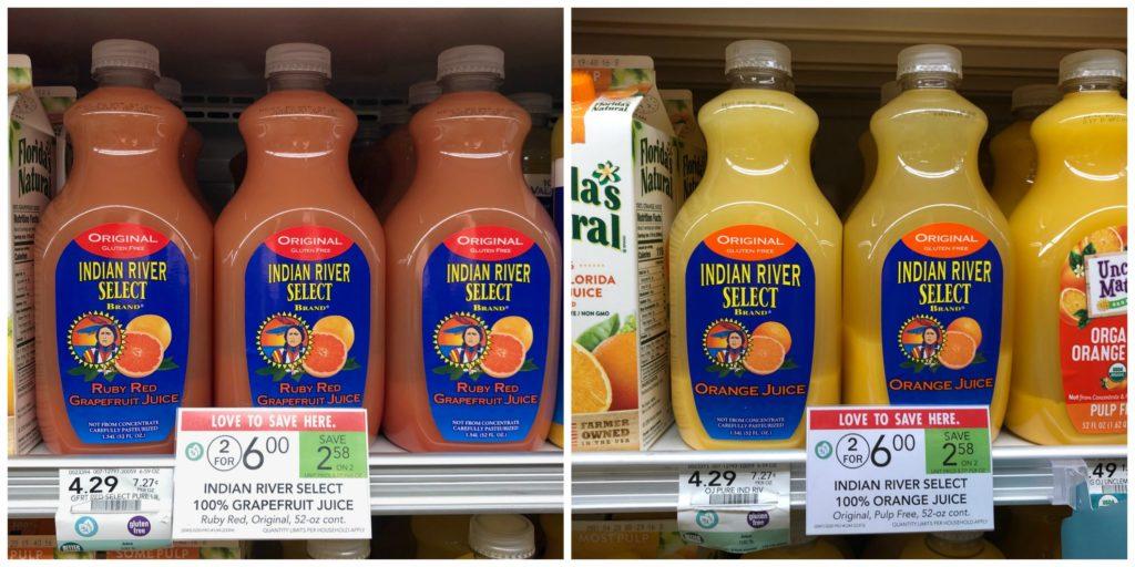Indian River Select Juice Just $2 At Publix on I Heart Publix