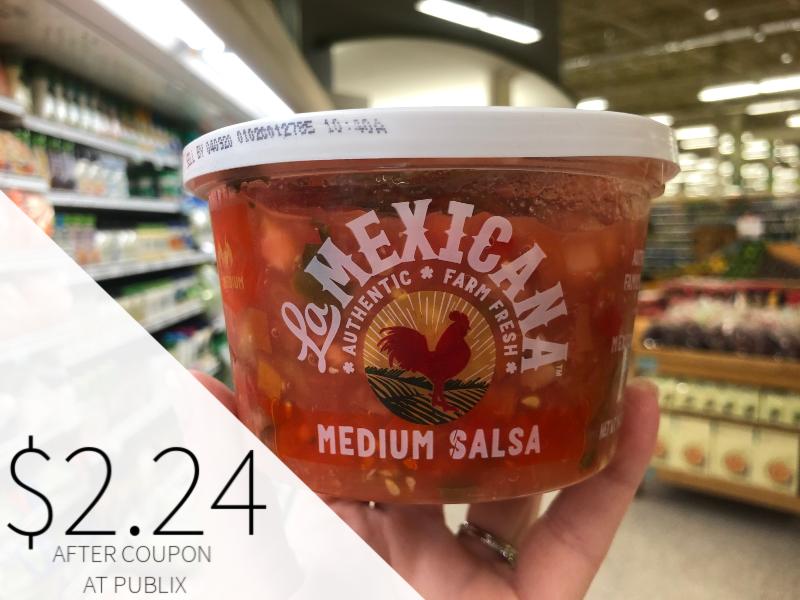 La Mexicana Salsa Just $2.24 At Publix on I Heart Publix