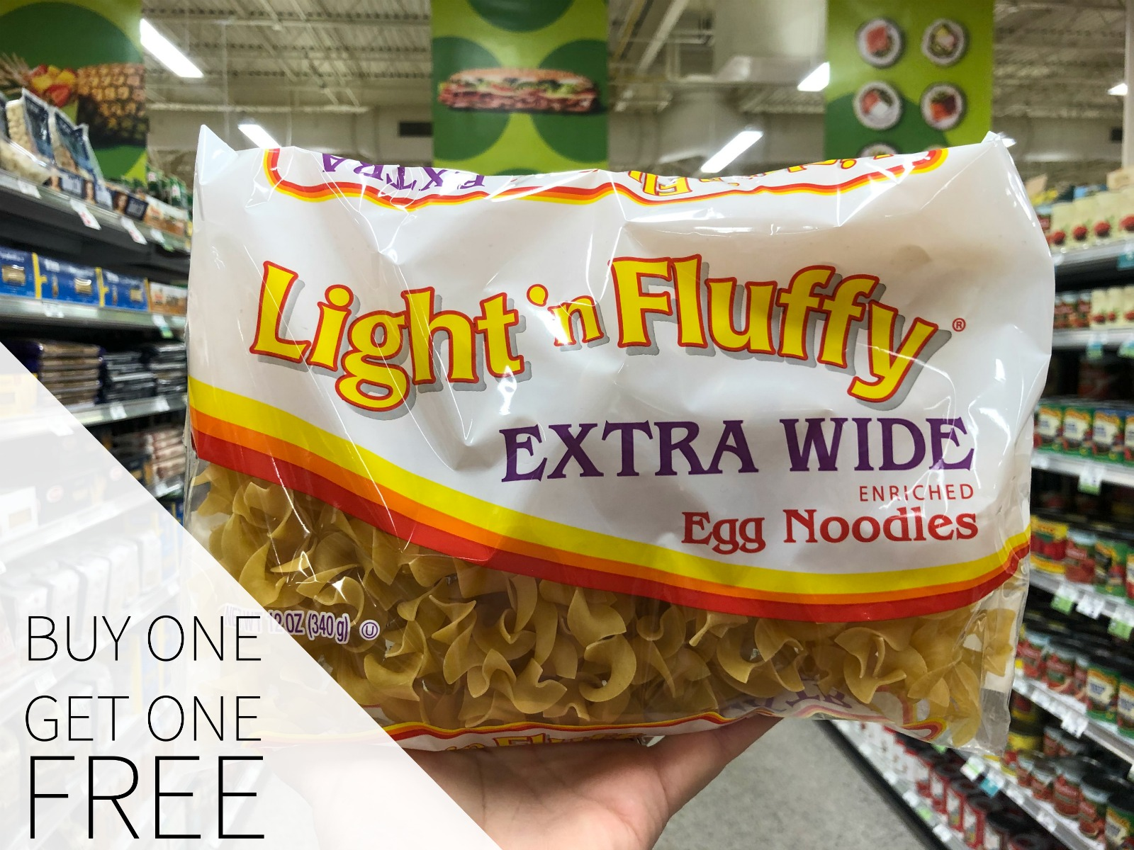 Light 'n Fluffy® Egg Noodles Are BOGO This Week At Publix - Stock Your Pantry! on I Heart Publix